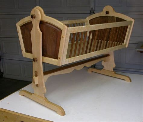 Carpentry Plans Baby Cradle