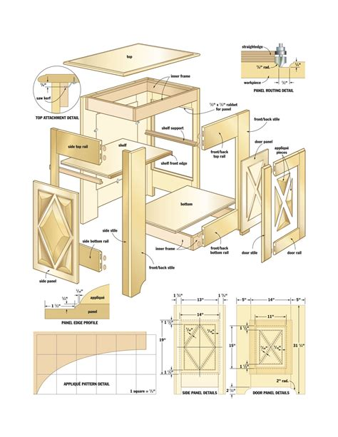 Carpentry Plans Cabinets