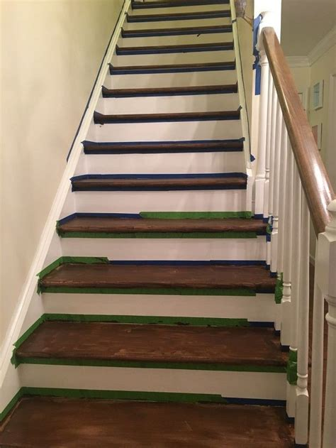 Carpet Stairs To Wood Diy Shutters