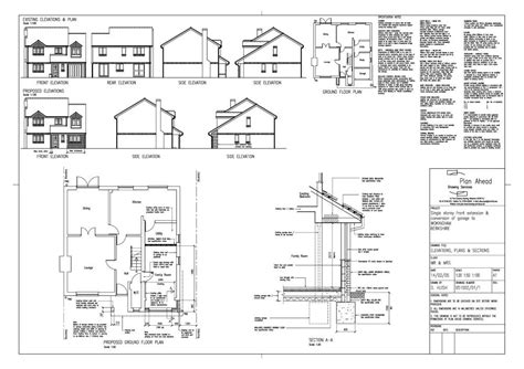 Carport To Garage Conversion Plans Drawings