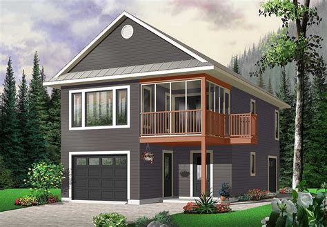 Carriage House Plans One Garage