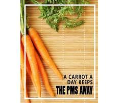 Best Carrot diet for pms