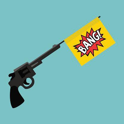 Cartoon Bang Gun Toy