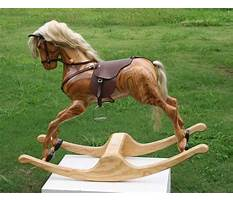 Best Carved wood horse life size