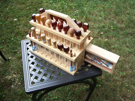 Carving Tool Caddy Plans