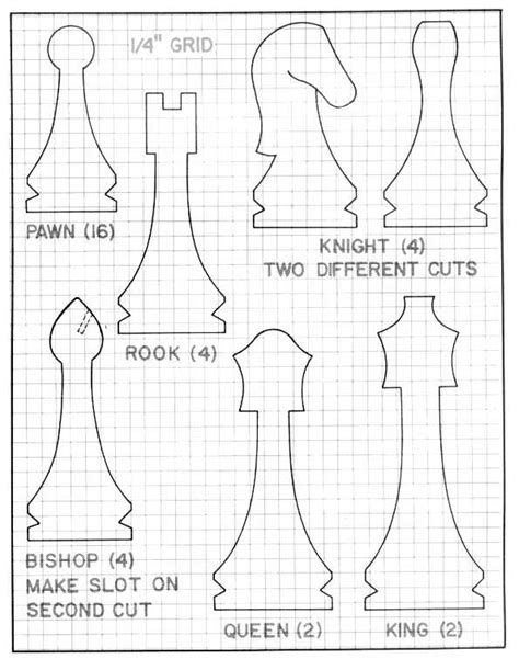 Carving-Chess-Pieces-Plans