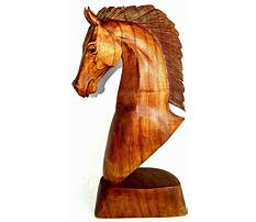Best Carving a horse from wood
