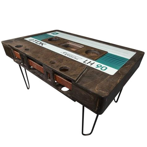 Cassette Tape Coffee Table Diy Restoration