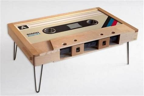 Cassette Tape Table Diy Ideas