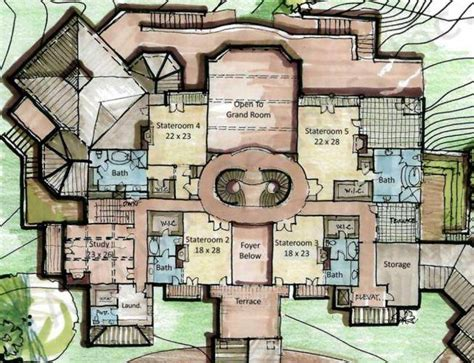 Castle Design Floor Plans