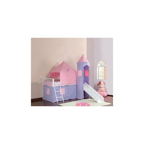 Castle Loft Bed With Slide Planswift Training
