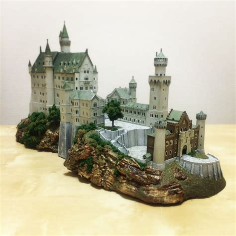 Castle Neuschwanstein Model Construction Plans