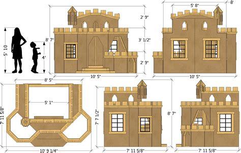 Castle-Bed-Playhouse-Plans