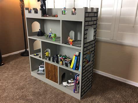 Castle-Bookshelf-Plans