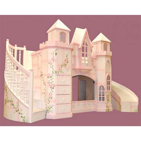 Castle-Bunk-Bed-With-Slide-Plans