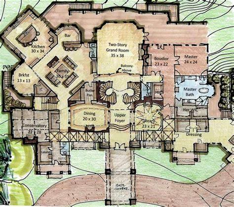 Castle-Plans-Blueprints