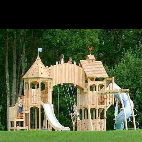 Castle-Swing-Set-Plans