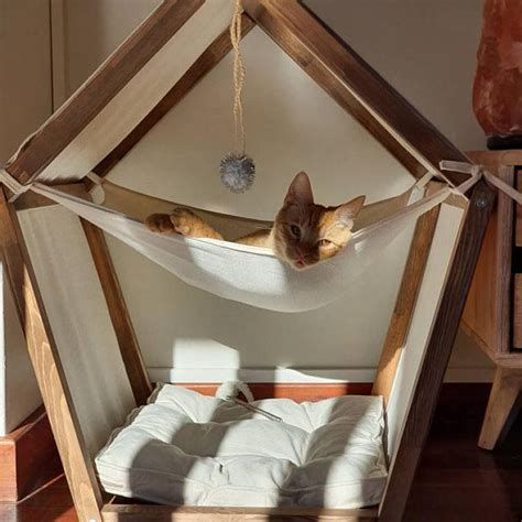 Cat Hammock Bed Diy Plans