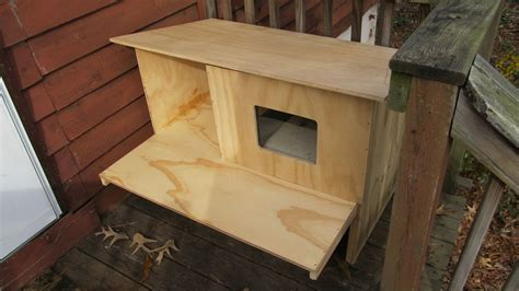 Cat House Plans For Winter