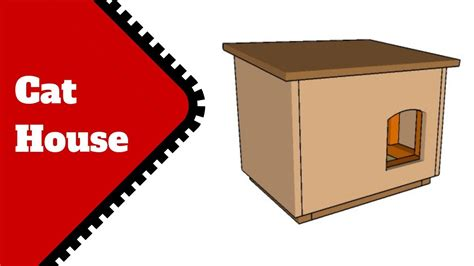 Cat House Plans Youtube