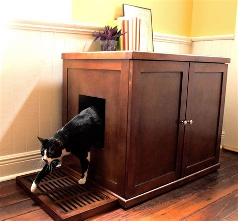 Cat Litter Furniture Plans
