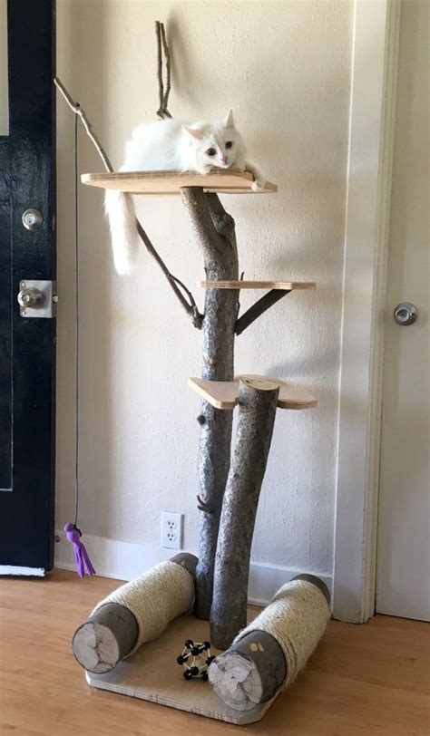 Cat Tower Plans Do It Yourself