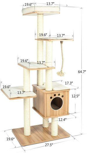 Cat Tree Plans Dimensions