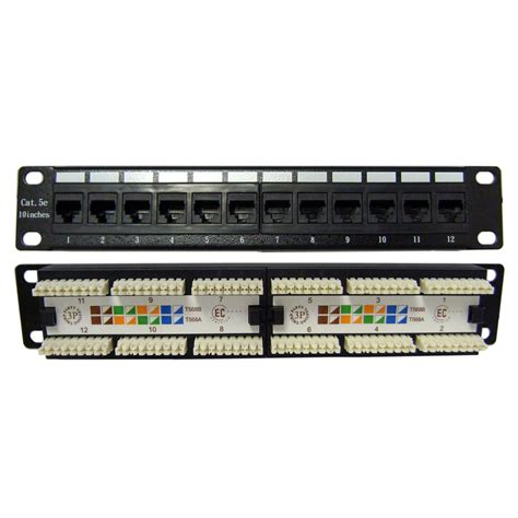 Cat5e Patch Panel 568B-48port