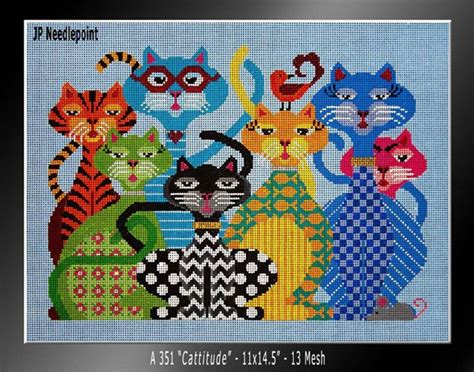 Cats Cradle Needlepoint Designs