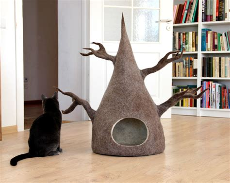 Cave Style Cat Bed Diy In Trees