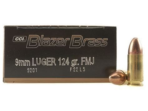 Cci Blazer Brass 9mm Luger Ammo 124 Grain Full Metal Jacket And The Utracer A Miniature Tube Curve Tracer Tester