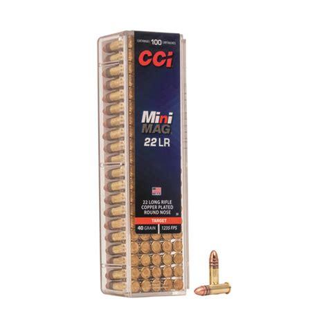Cci Minimag High Velocity 22 Long Rifle 40 Grain And Cheap 22 Long Rifle Ammo Bulk