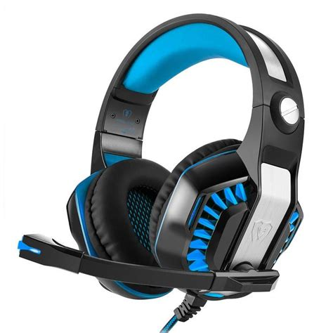 Cdycam Luminous 3.5mm Stereo Wired Gaming Headset with Mic,Noise Cancelling and Volume Control,Over-Ear Headphones for PC, Laptop and Mac