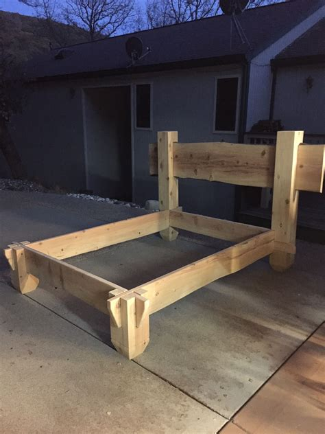 Cedar Bed Frame Diy Ideas