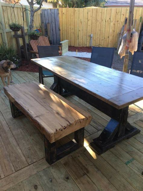 Cedar Farmhouse Table Plans
