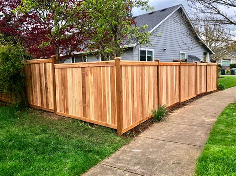 Cedar Fence Construction
