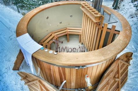 Cedar Hot Tub Wood Fired
