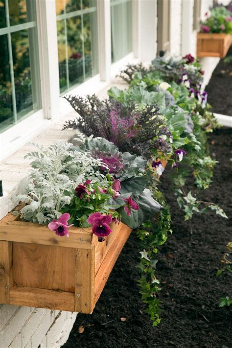 Cedar Planter Ideas