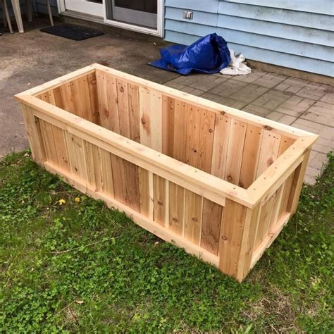 Cedar Vegetable Garden Box Plans