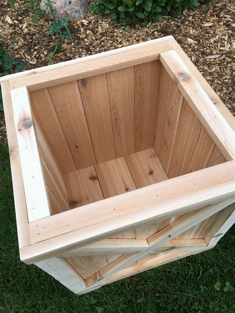 Cedar Window Box Planters