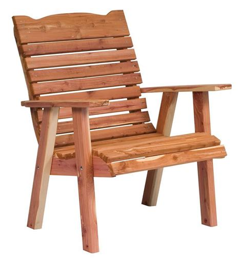 Cedar Wood Chair Plans