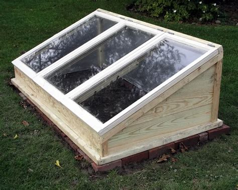 Cedar Wood Cold Frame Plans