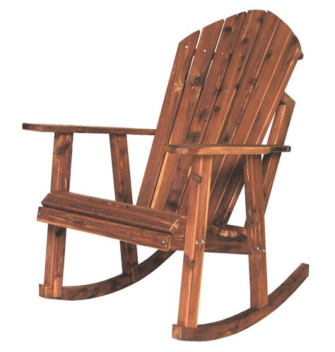Cedar-Adirondack-Rocking-Chair