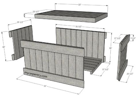 Cedar-Chest-Drawing-Plans