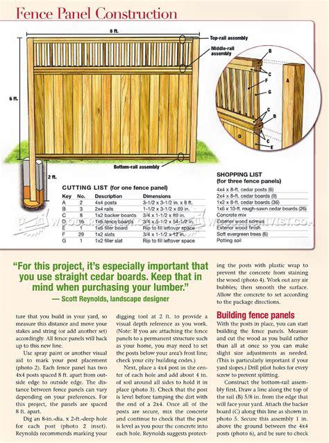 Cedar-Fence-Plans