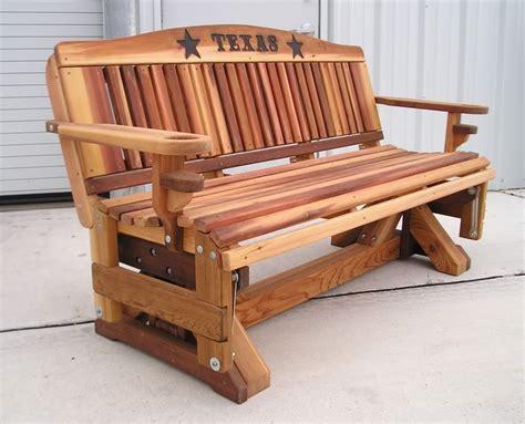 Cedar-Glider-Bench-Plans