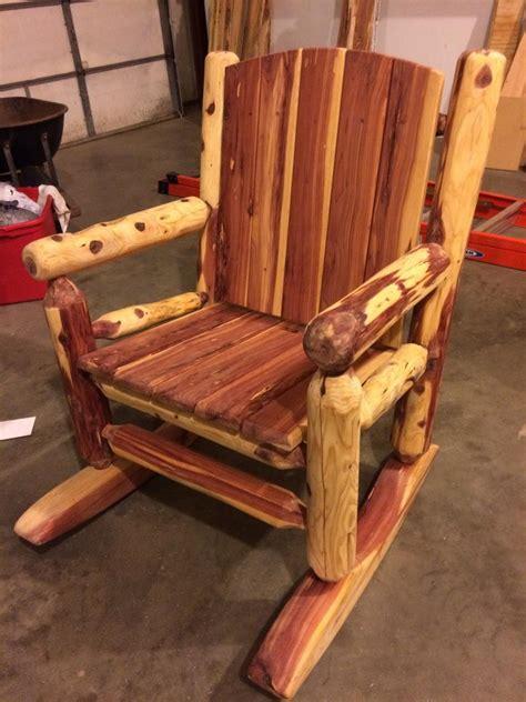 Cedar-Log-Chair-Plans
