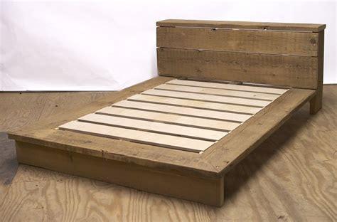 Cedar-Plank-Bed-Frame-Plans