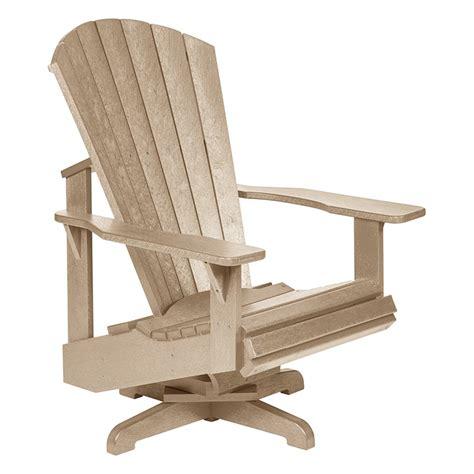 Cedar-Wood-Swivel-Adirondack-Chairs