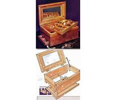 Best Cedar jewelry box plans